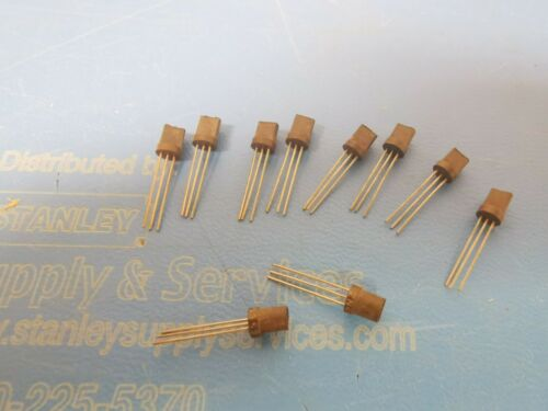 2N5355 PNP Si SMALL SIGNAL TRANSISTOR 25V TO-92 Switch//Amp 10 PCS