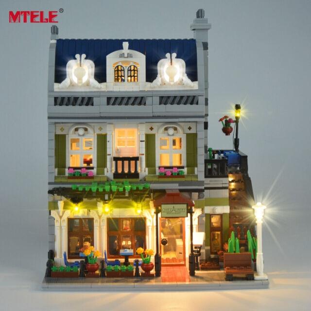NEW Led light Kit for LEGO 10243 Creator Parisian Restaurant Expert lighting