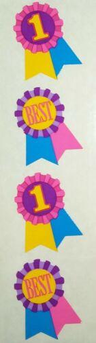 Mrs Grossman  FIRST PLACE AWARD RIBBON  1991  Stickers Vintage
