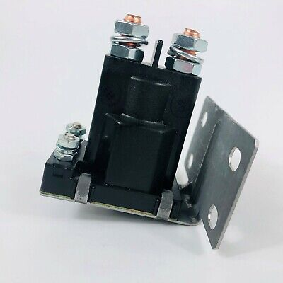 May 200A Trombetta Continuous Solenoid Relay 3 Terminal Heavy Duty Winch Marine 24106 SPST Solenoid 12VDC