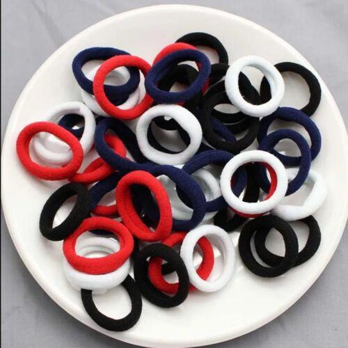 3cm 40pcs//lot kids hair clip Hair Accessories scrunchies Elastic Hair Bands
