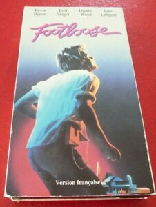 VHS-Movie-Footloose-Version-Francaise