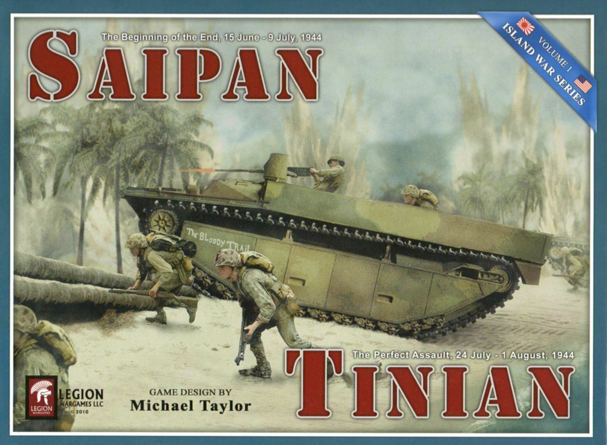 Saipan & Tinian - Island War Series Vol. I, NEW
