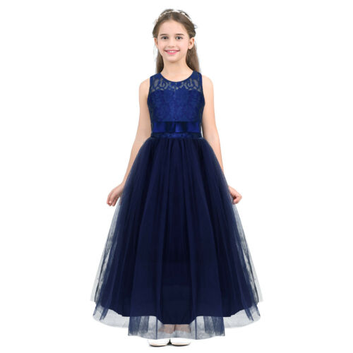 Flower Girl Wedding Dress Princess Party Tulle Dresses Bridesmaid Communion Gown
