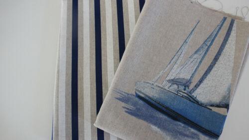 Canvas-algodón marítimo barcos o tiras de 50 x 140 cm