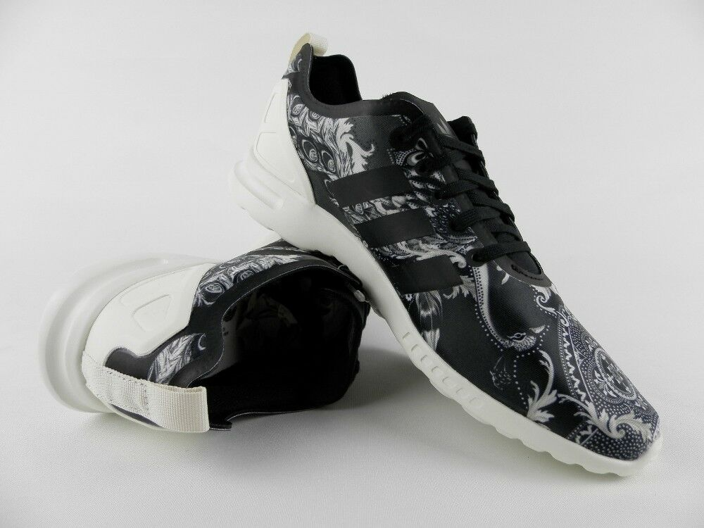 Damen adidas Originals Zx Flux ADV Smooth Sneaker rot