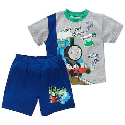 BNWT ~ BOYS SIZE 1 LICENSED CHARACTER THOMAS & FRIENDS LENTICULAR PYJAMAS  ~ NEW