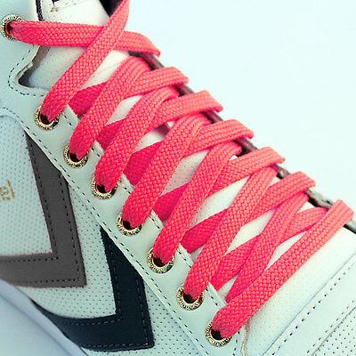 Plano De color Cordones zapatos Zapatillas Botas Corto Larga Y Fina Nuevo para