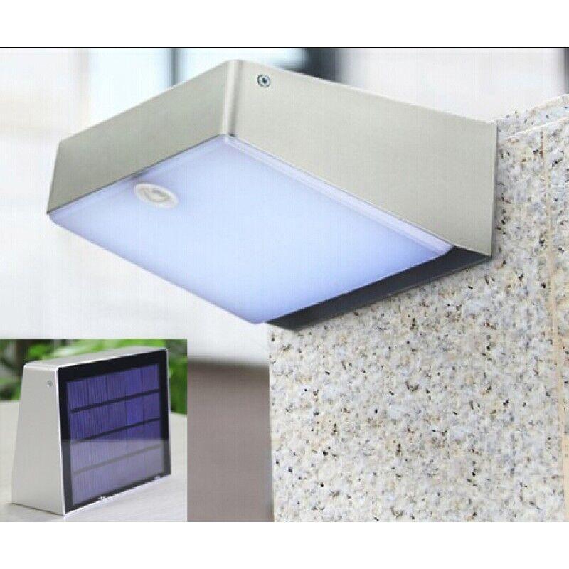 LED Energía Solar Sensor De Movimiento Para Jardín Aire Libre Luz De Parojo De Seguridad