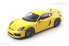 Porsche Cayman GT4 - racing gelb - Schuco - 1:18 - 04000