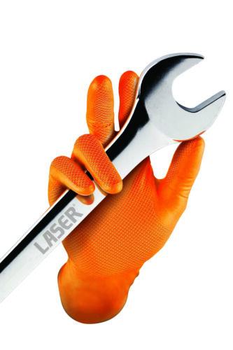 Grippaz Nitrile Gloves Retail Bag of 10 XL Traction Grip Ambidextrous37298
