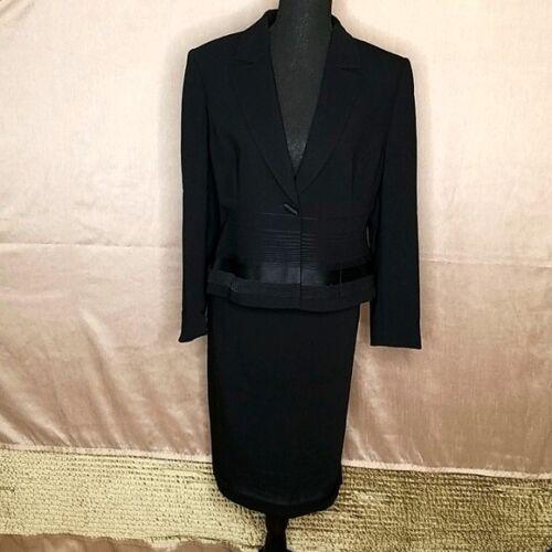 ALBERT NIPON 2 Piece Black Suit