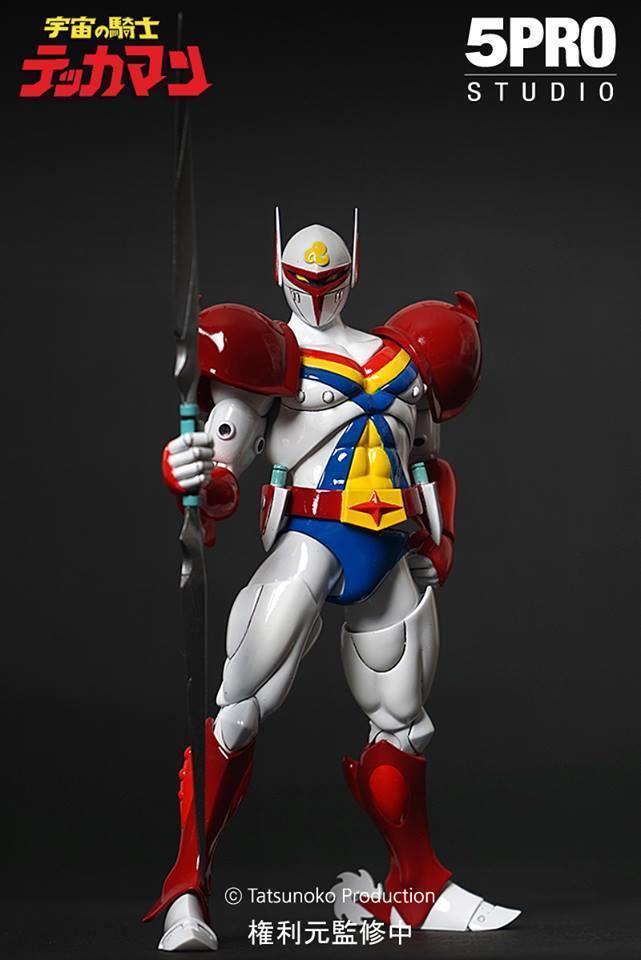 5pro Studio Mega Hero Action-Figur Series Mh-001 The Space Knight Tekkaman New