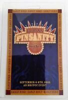 Hard Rock Cafe LAS VEGAS 2005 1st Annual PINsanity LAMINATE EARLY BIRD  b26