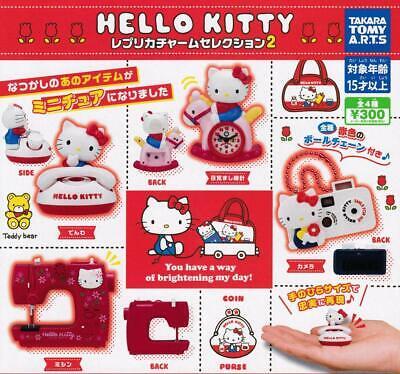 TTA Re Touch Hello Kitty replica charm selection Gashapon 4 set charm