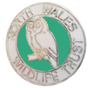 North Wales Wildlife Trust Gwynedd Wales Small Crest Pin Badge