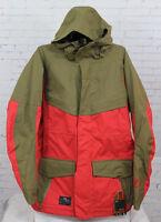 2014 Mens Nitro The Kill Snowboard Jacket Large Dark Army Red