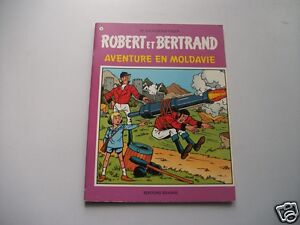 Robert-Et-Bertrand-N-10-Aventure-En-Moldavie-EO-Vandersteen