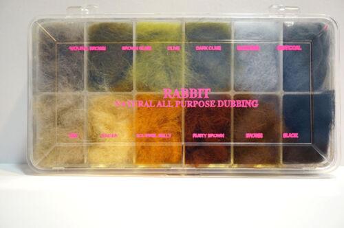 Wapsi Dispenser RABBIT #1 Wapsi USA 12 Farben-Box gedeckte Farben Rabbit #1