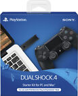 Sony - DualShock 4 Wireless Controller Starter Kit for PlayStation 4 - Black