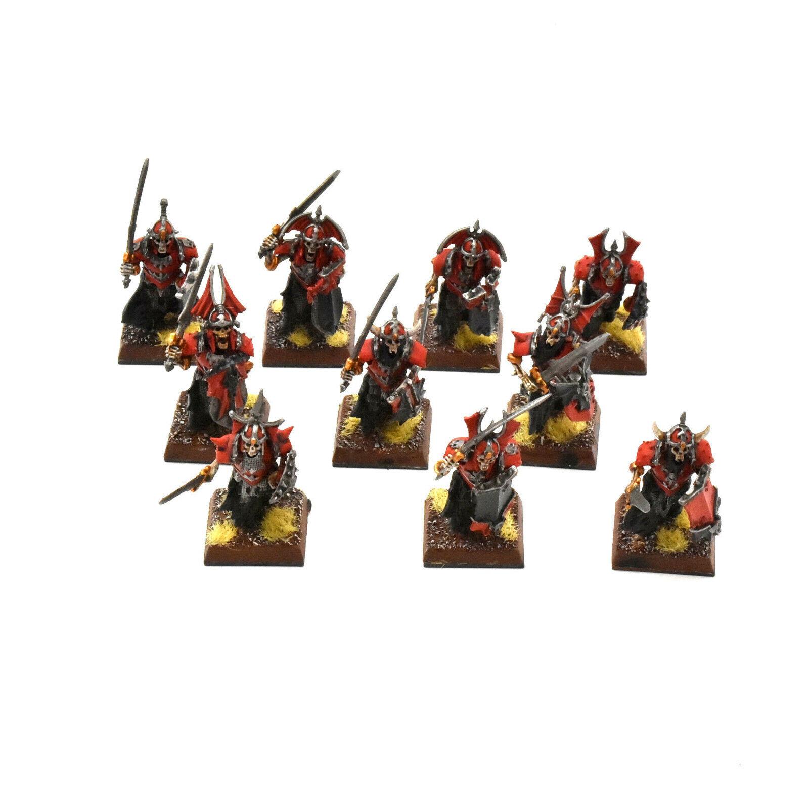 VAMPIRE COUNT 10 guardie gravi  8 BELL PAINTED fantasyc guard