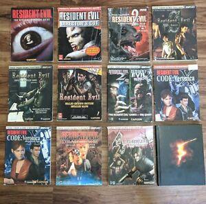 BIG LOT 12 Resident Evil Strategy Guide Zero 1 2 3 4 5 Veronica Dead Aim