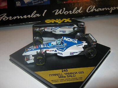 Ambizioso 1:43 Tyrrell Yamaha 023 M. Salo 1995 Onyx 240 Ovp-mostra Il Titolo Originale Prendiamo I Clienti Come Nostri Dei