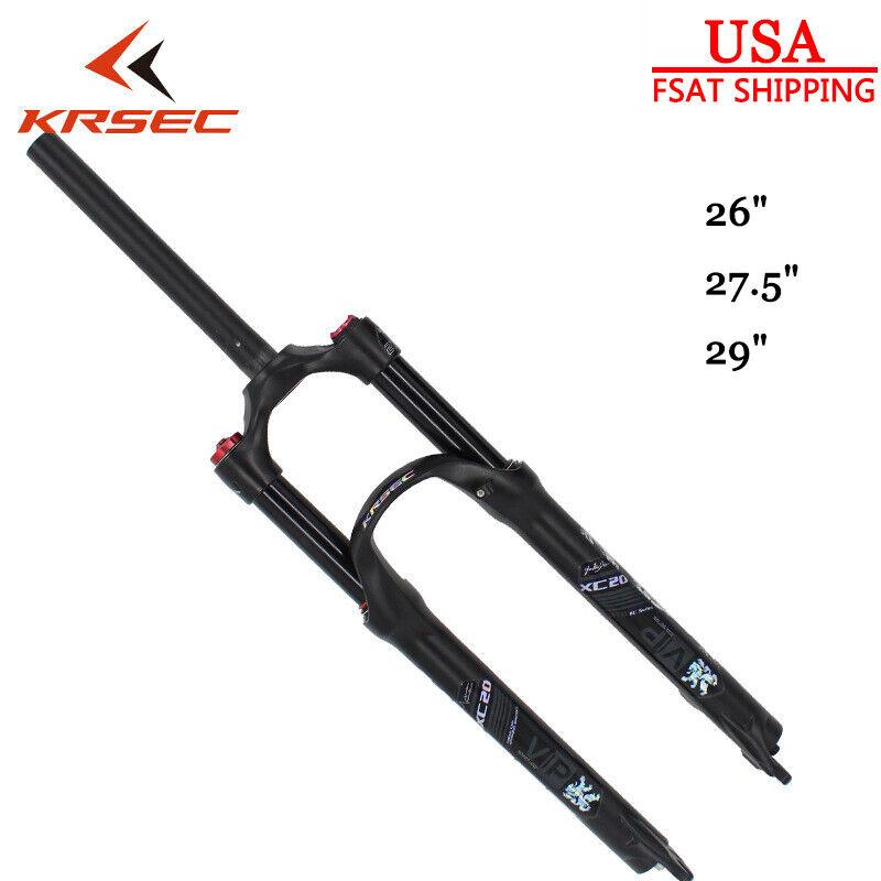 26 27.5 29er Mountain Bike Suspension Fork 120mm Travel 1-1 8  Cycling MTB Forks