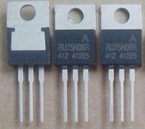 Transistores Mosfet 10PCS RU75N08R TO-220 75V 80A IC * M