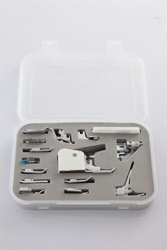 15 pc Sewing Machine Presser//Walking Feet Kit for Brother Janome Singer Juki