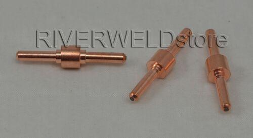 100pcs Extended Long Electrodes Fit 30//40A PT-31 LG-40 Air Plasma cutter Torch