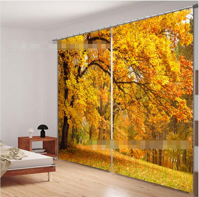 3d trappole alberi 587 blocco foto sipario pressione sipario tende tessuto finestra de