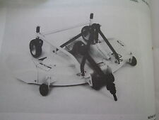 JOHN DEERE UTILITY / LAWN TRACTOR 50-INCH 3-POINT HITCH MOWER OPERATORS MANUAL