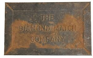 Vintage-Hinged-Tin-Box-From-The-Diamond-Match-Company