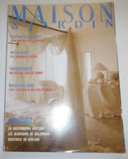 Maison & Jardin French Magazine Portraits Of Maison No.324 June 1986 101414R1