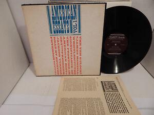 American-Essays-Vol-1-1960-Smithsonian-Folkways-Records-Spoken-Word-Insert-LP