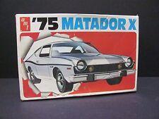 AMT 1975 AMC Matador X, 1/25 Scale Model Kit, #T452, Near Mint Condition!