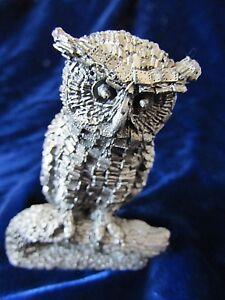 Details about Honeywell Hudson Pewter & Metal Judge Owl Figurine 3