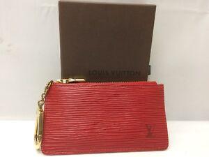 Auth-Louis-Vuitton-Epi-Pochette-Cles-Coin-Case-8L120840m