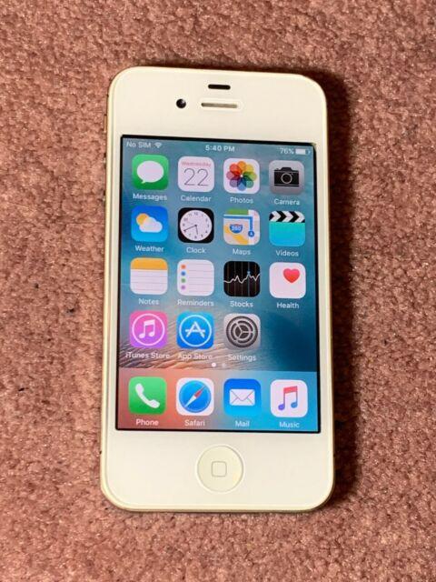 Apple iPhone 4s - 8GB - White +(UNLOCKED) A1387+ ON SALE !!!