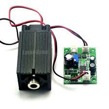 100mW 405nm Bule/Violet Focusable Dot Laser Diode Module 12V +TTL/ Driver + Fan