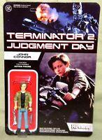 John Connor Reaction Super 7 Terminator 2 Judgement Day Retro 3.75 Figure Funko
