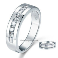 Alianza de caballero en Plata de 1ª ley (ideal para boda-compromiso)