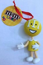 M/&M/'s World Retro Yellow 75th Anniversary Christmas Ornament New with Tags