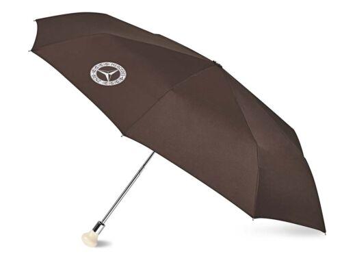 Genuine Mercedes-Benz Brown 300 SL Compact Umbrella B66041533 NEW