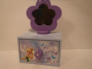 Disney Fairies Girls Jewelry Box FAB Starpoint New York 97208