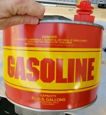Vintage 2.5 Gallon METAL Gas Can Kelley Mfg. 1 of a Kind! MADE USA Very Rare