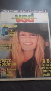 Revista Vsd El Diccionario Dietética N º 108 Brigitte Bardot 1979 Be Infolio