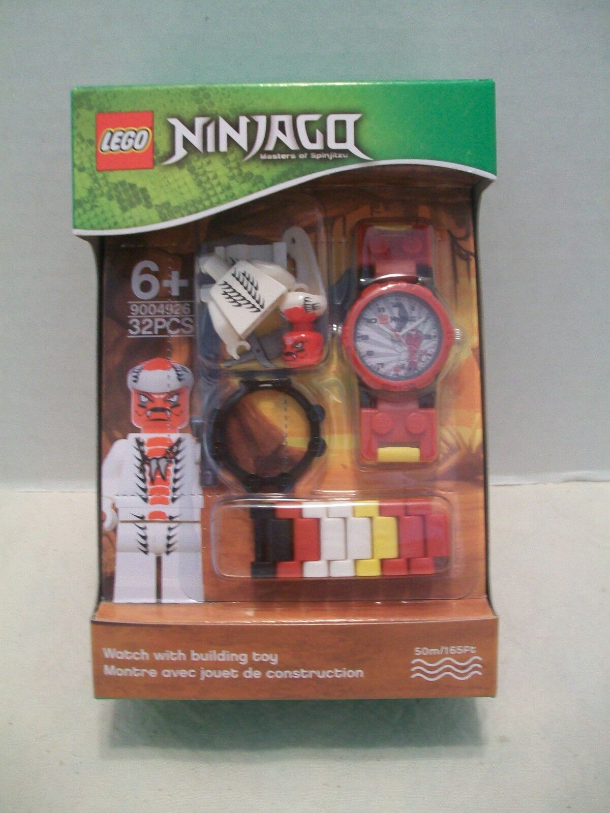 Lego  9004926 Ninjago Snappa Watch With Building Toy Rare & HTF NIB 2011
