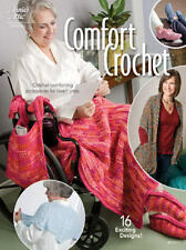 Comfort Crochet Patterns Shawl Cape Socks Hanging Tote Loafers Annie's Attic NEW